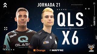 QLASH VS x6tence | Jornada 21 | Temporada 2018-2019