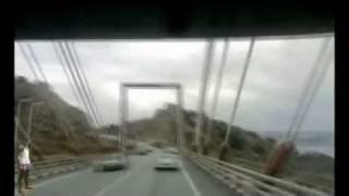 preview picture of video 'komiufla tazmalt bejaia alger djijel le barage beni haroune  fateh et sa3id sur camio TMF'