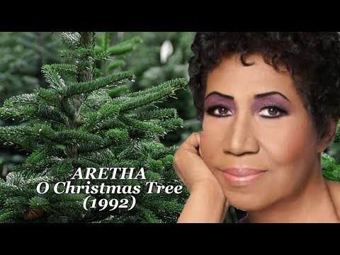 Aretha Franklin - O Christmas Tree - Audiovisual w-Lyrics