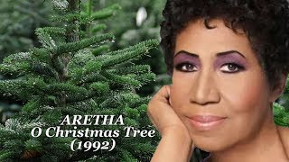 Aretha Franklin - O Christmas Tree - Audiovisual w-Lyrics