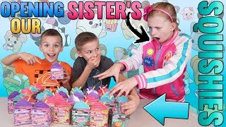 Opening All Our Sisters Surprise Toys & Squishies!!