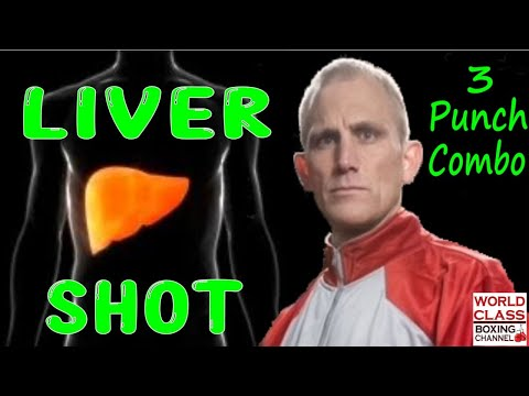 How To Land the Liver Shot using a Three Punch Combo