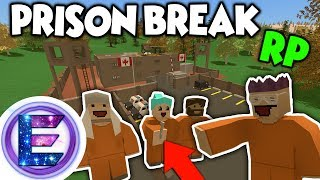 PRISON BREAK RP - We come up with an Escape Plan - Unturned RP