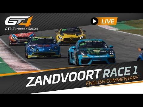 RACE 1 - ZANDVOORT - GT4 EUROPEAN SERIES - ENGLISH