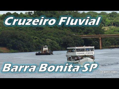 Cruzeiro Fluvial em Barra Bonita SP