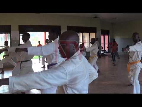 Busia karate team start training