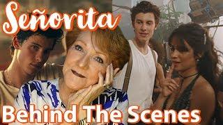 Grandma Reacts To Señorita Behind The Scenes | Camila Cabello