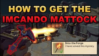 How to Get The Imcando Mattock (Into The Forge Mystery Guide) | RuneScape 3