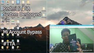 Redmi 6 6a Mi account FRP Remove SP Flash Tool 100% - Thủ thuật máy