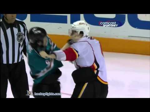 Ryane Clowe vs. Cory Sarich