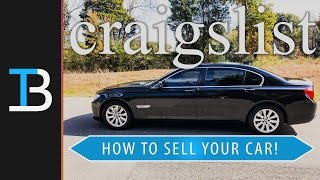 How To Sell A Car On Craigslist (Sell Your Car On Craigslist!)