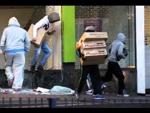 """London Riots 2011 - """"Let There Be Locals"""""""