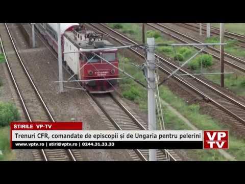 Trenuri CFR, comandate de episcopii și de Ungaria pentru pelerini