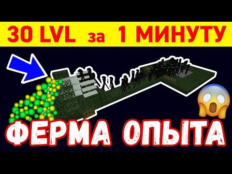 ТОПОВАЯ ФЕРМА ОПЫТА в Краю   30 LVL за МИНУТУ   ФЕРМА ЭНДЕРМЕНОВ