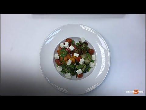 Salát z pečené zeleniny s feta sýrem   Miele Center České Budějovice