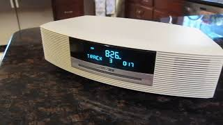 Bose Wave AWRCC2 White Music System Radio CD Player With Remote
