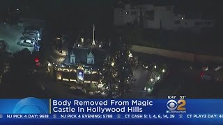 Body Removed From Magic Castle In Hollywood Hills
