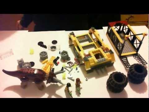 Vidéo LEGO Dino 5885 : Le piège du Tricératops