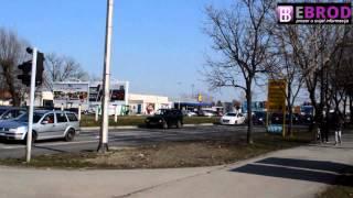 preview picture of video 'Prometni kolaps 18 02 15 - Slavonski Brod'