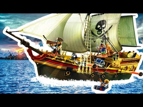 PLAYMOBIL deutsch Piraten - Piraten Beuteschiff - Pandido TV
