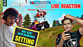 Free Fire || Best Settings For Auto Headshot || New Sensitivity For Game|| Garena Free Fire