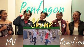 Pentagon (펜타곤) Shine (빛나리) MV Reaction