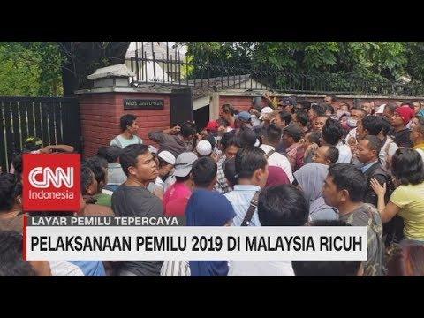 Pemilu di Malaysia Kacau, Pemilih Membludak di 3 TPS