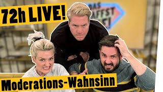 """Weltrekord-Live-Challenge: Ari und Meini moderieren 72 Stunden am Stück! II """"Das schaffst du nie!"""""""