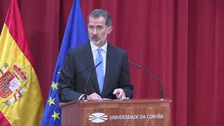 Discurso de S.M. el Rey en la inauguración del Curso Universitario en A Coruña