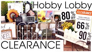 HUGE HOBBY LOBBY CLEARANCE HAUL July 2020