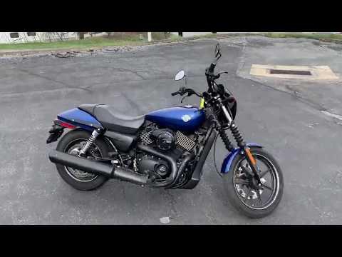 2016 Harley-Davidson Street® 750 in Tyrone, Pennsylvania - Video 1