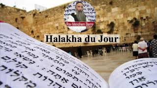 Halakha du Jour - Celui qui entend la Kedoucha pendant sa Amida