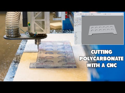 Cutting Polycarbonate with Vortex Tooling on a ShopSabre Routervideo thumb