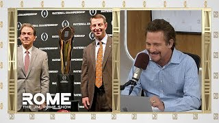 Dabo Outcoaches Nick Saban | The Jim Rome Show