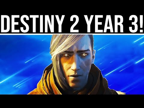 Destiny 2 Year 3!
