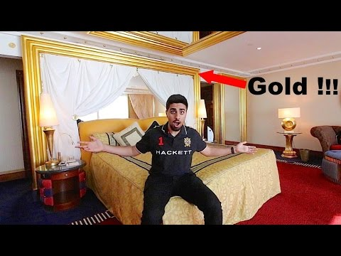 THE $15,000 HOTEL ROOM in DUBAI !!!