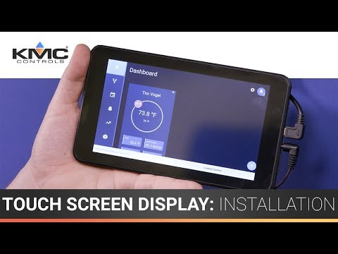 7″ Touch Screen Display: Installation