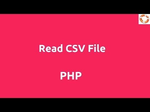 Read CSV File In PHP Mp3