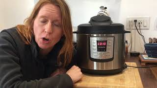 """Lesson 4: How to Use """"Natural Release"""" in an Instant Pot"""
