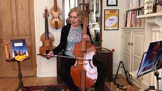 Bass Elementary Lesson 2: How to hold the bow and bowing with Jacqui