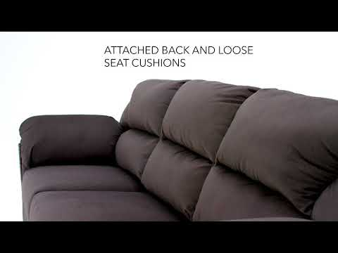 Charcoal Kinlock Full Sofa Sleeper View 4 video