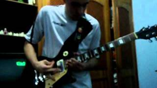 Avenged Sevenfold - An Epic of Time Wasted ( guitar cover)