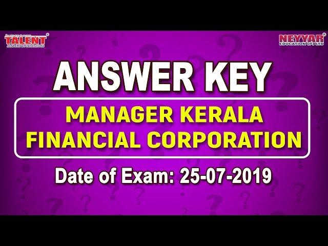 Kerala PSC Exam (25-07-2019)