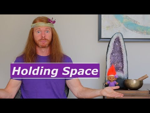 Holding Space for People - Ultra Spiritual Life episode 74