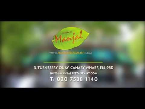 Video Manjal Fine Dining Indian Restaurant Commercial