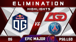 OG vs PSG.LGD [TOP 6] EPICENTER Major 2019 Highlights Dota 2