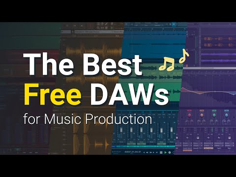 Free Music Production and Recording Software - Best Free DAWs (2021)