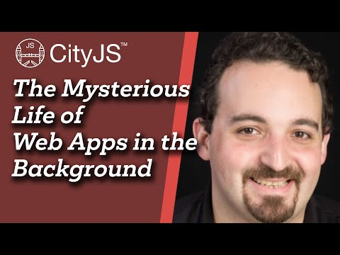 Image thumbnail for talk The Mysterious Life of Web Apps in the Background