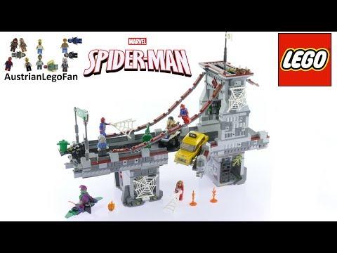 Vidéo LEGO Marvel Super Heroes 76057 : Spider-Man : Le combat suprême sur le pont des Web Warriors