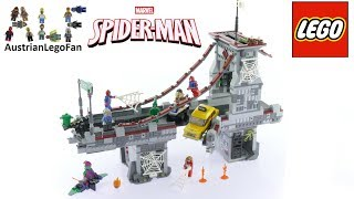 Lego Super Heroes 76057 Spider-Man Web Warriors Ultimate Bridge Battle - Lego Speed Build Review